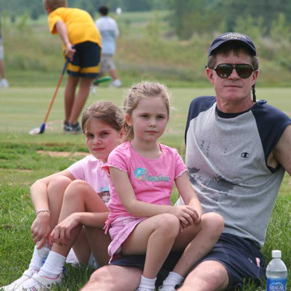 Kids, Green Grass, Golf