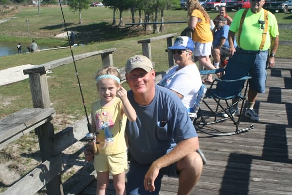 Florida youth conservation centers network for Tenoroc fish management area